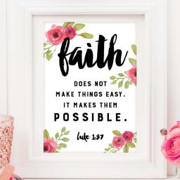 Have a little faith in me…